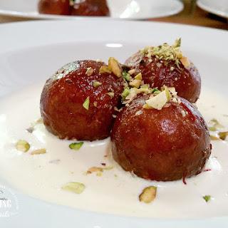Gulab Jamun | Indian Syrup Soaked Doughnuts