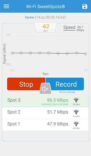 Wi-Fi SweetSpots screenshot 5