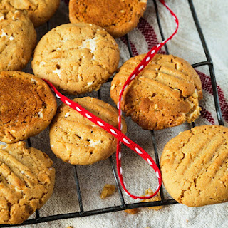 Peanut Butter Nougat Cookies.