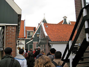 """Photo: Entering the """"labyrinth"""". The houses are quite small and packed together in odd ways."""