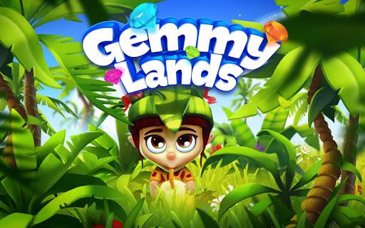 Gemmy Lands: Match 3 Jewel Games apktram screenshots 16