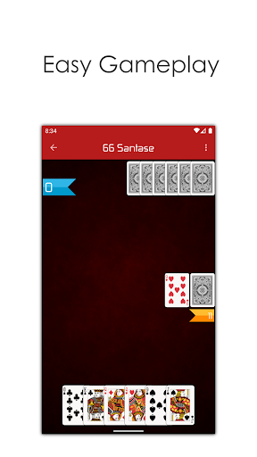 66 Online - Play Multiplayer Santase Card Game 7.6 screenshots 9