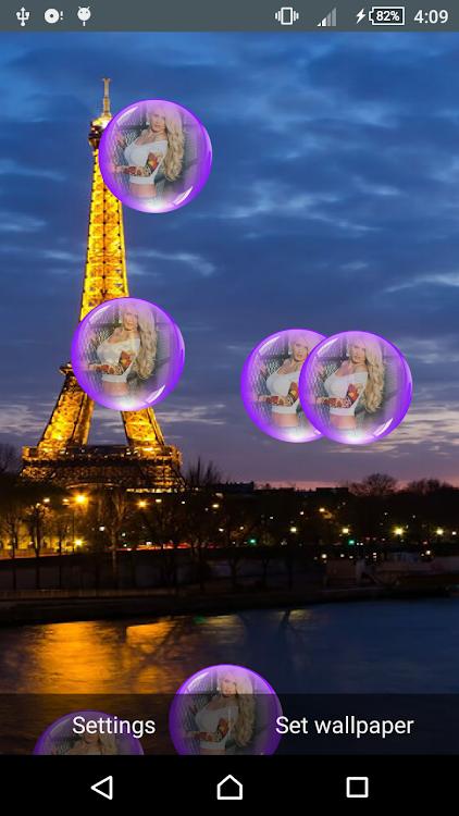 Paris Night Live Wallpaper Android Aplicaciones Appagg