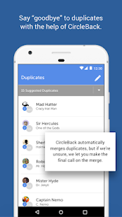 CircleBack - Contact Manager Screenshot