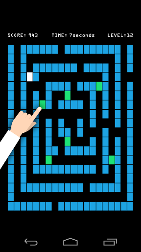 Blue Maze - scary maze