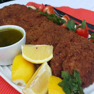 Breaded Fish Patties with Basil
