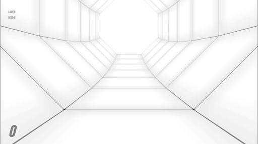 Tunnel Race Survival 3D screenshot 1