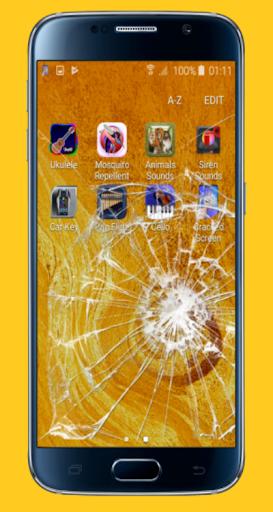 Cracked Screen Effect (joke) 1.7.0 screenshots 4
