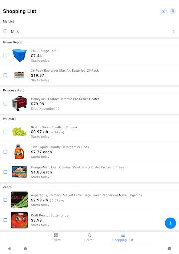 reebee: Flyers, Deals & Shopping List 4.5.8 screenshots 9