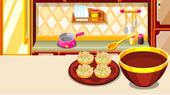 vařit koláč hry Dívčí hry - náhled