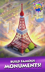 Gummy Drop! Match to restore and build cities Mod Apk Download For Android 2