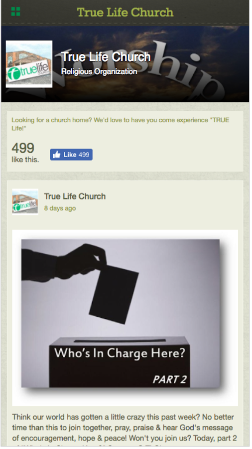 True Life Church - GA- screenshot