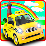 Taxi Driving Simulator 3d Icon