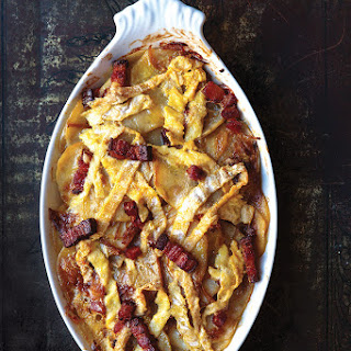 Tartiflette (French Bacon, Potato, and Reblochon Casserole).