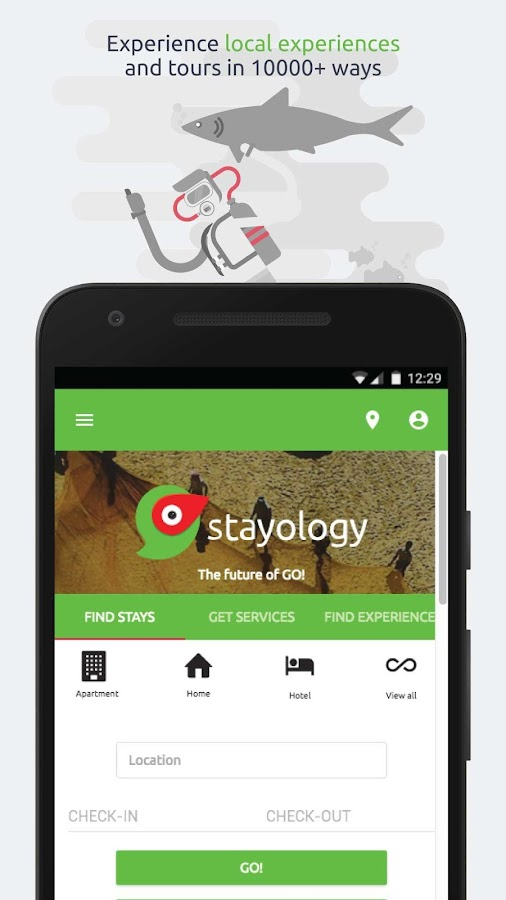 Stayology- screenshot