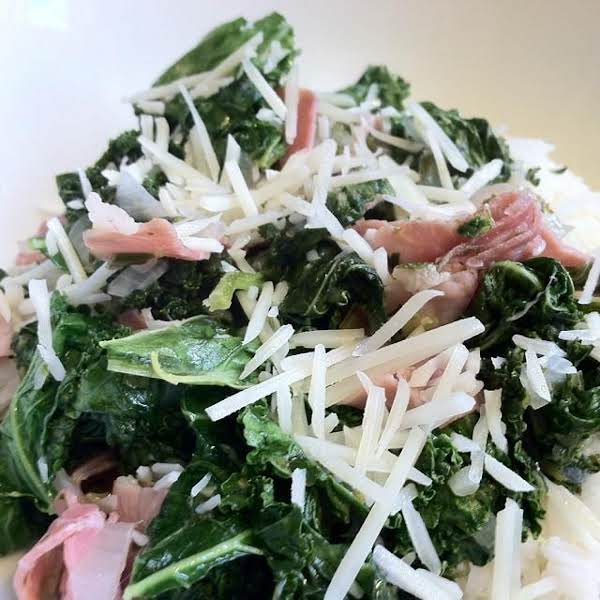 Gina's Garden Kale Dinner Recipe