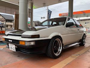 スプリンタートレノ AE86 GT  1985年式(昭和60年式)のカスタム事例画像 よねさんの2019年10月21日08:15の投稿
