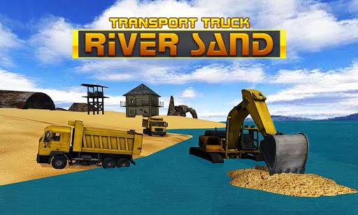 River Sand Transporter Truck