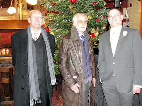 Photo: The heavy mob (Graham Parlett, Paul Chown, Ed) at The Old Bank of England pub, Fleet Street