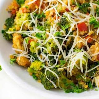 Chicken Broccoli Cauliflower Risotto Recipe
