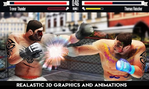 Real boxing action Game