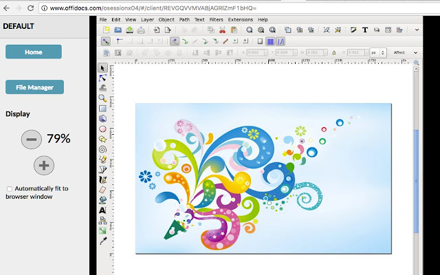 how to create line fill in inkscape