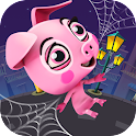 Crazy Rope Swinging Spider Pig icon