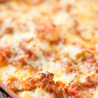 Three-Cheese Lasagna with Italian Sausage recipe | Epicurious.com.