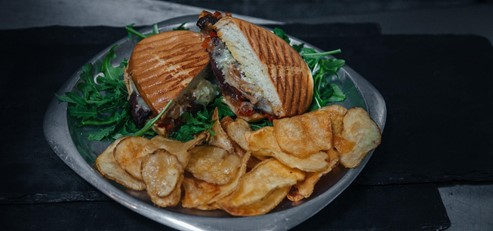 LA Cheese Steak Panini