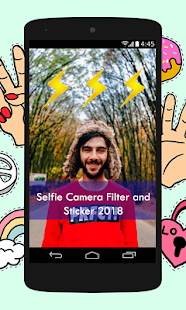 Selfie Camera Filter and Sticker 2018 - náhled