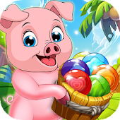 Pop Pig : Bubble Shooter Game Android APK Download Free By Peppergame Studio