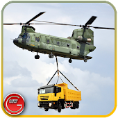 Army Helicopter Cargo Flight