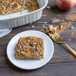 Pumpkin Apple Breakfast Bake (Paleo, Whole30).