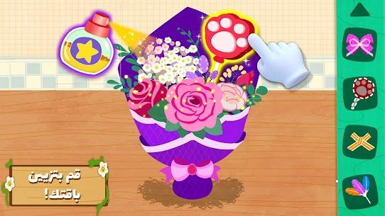 المنتجات اليدوية المصنوعة باستخدام الزهور للباندا 5
