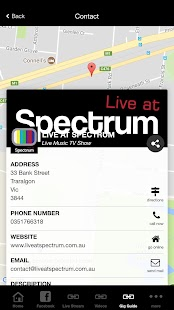 Live at Spectrum- screenshot thumbnail