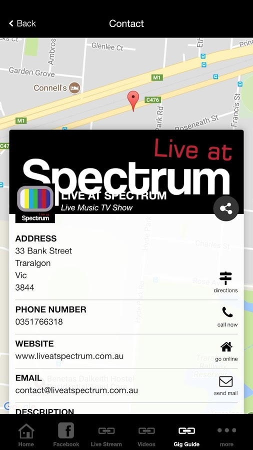 Live at Spectrum- screenshot