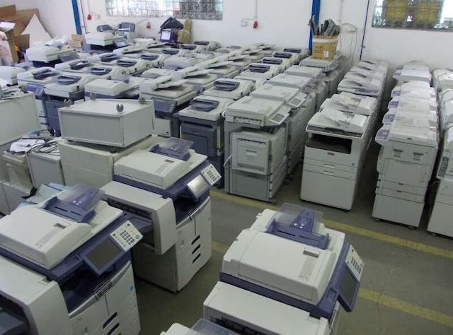 Trải nghiệm dịch vụ thu Mua máy photocopy cũ tại Linh Dương