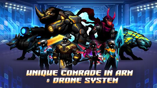 Cyber fighters: shadow legends in cyberpunk city MOD (Purchase) 5