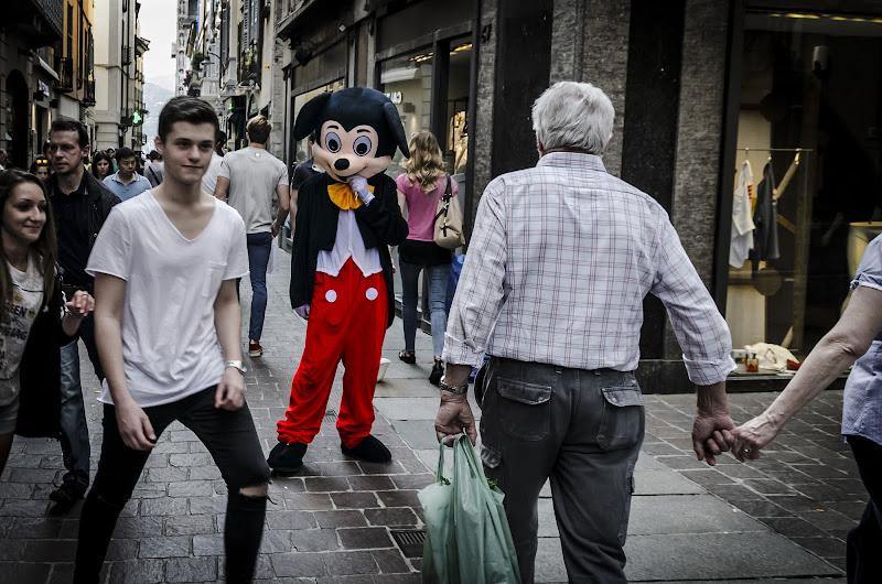 Micky in the Street di Simo Foto
