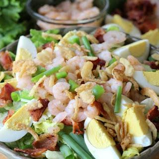 Cajun Shrimp Cobb Salad