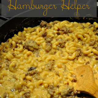 Homemade Hamburger Helper.