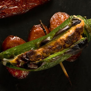 Chipotle-Chorizo Jalapeño Poppers