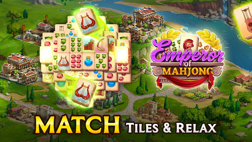 Emperor of Mahjong: Match tiles & restore a city filehippodl screenshot 17