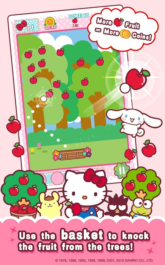 Hello Kitty Orchard- screenshot