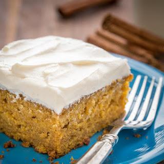 Easy Pumpkin Cake