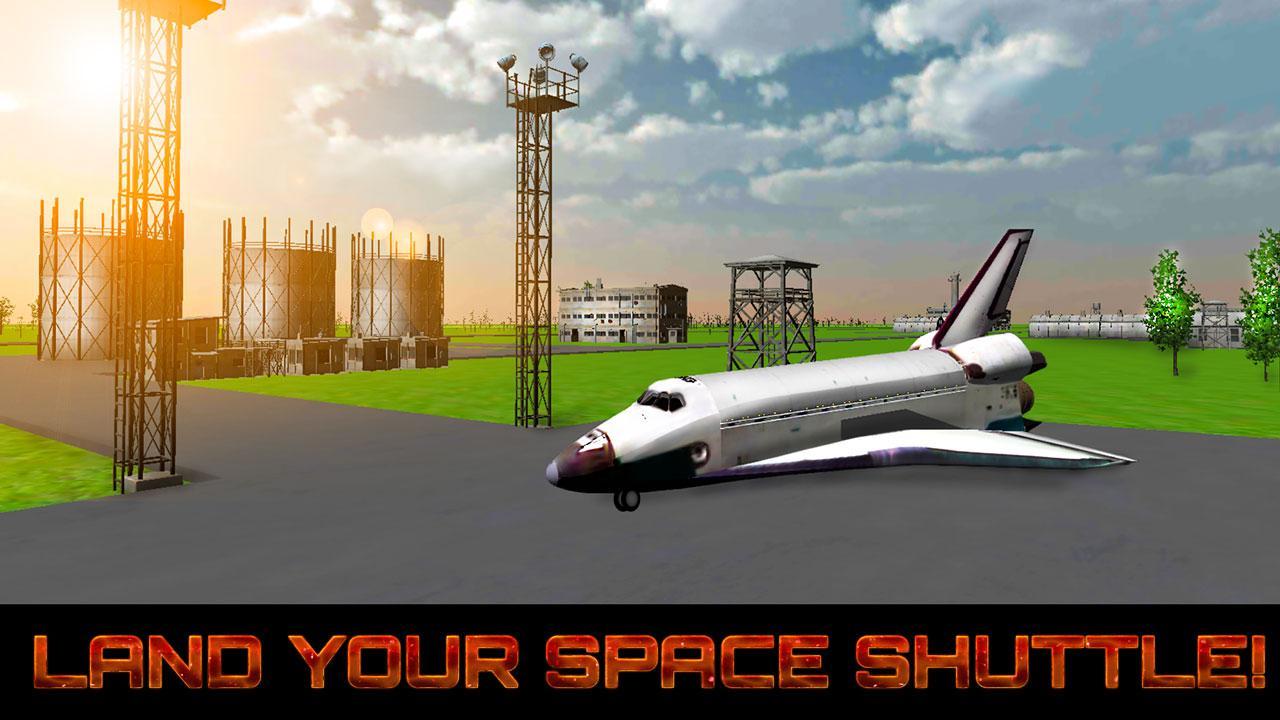 space shuttle landing app -#main