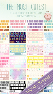 Pastel Keyboard Theme Color Add colorful design 2.2.0 Paid 5