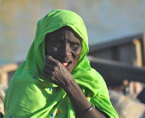 donna in verde di bennardo