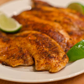 Blackened Tilapia.