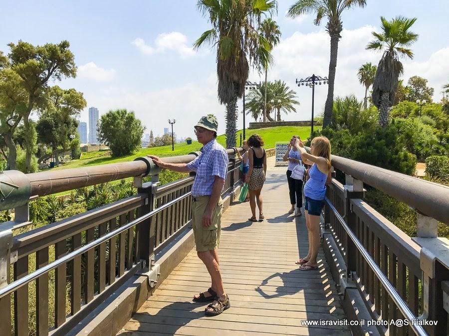 Мост желаний в Старом Яффо. Экскурсия в Яффо, Израиль.